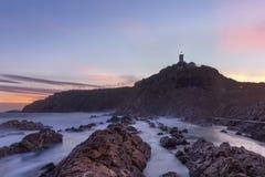 Faro di Blaize del san del capo Fotografie Stock