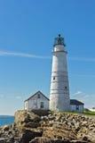 Faro di Boston Fotografie Stock Libere da Diritti