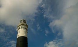 Faro di BW Fotografia Stock