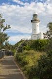 Faro di Byron del capo immagine stock