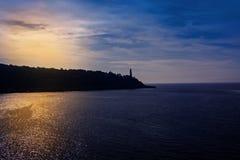 Faro di Cap Ferrat in Nizza Fotografia Stock Libera da Diritti