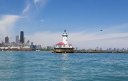 Faro di Chicago Immagine Stock