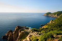 Faro di Dai Lanh, Vietnam fotografie stock