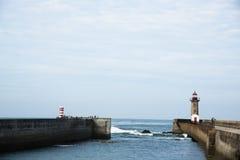 Faro di Felgueiras Immagine Stock