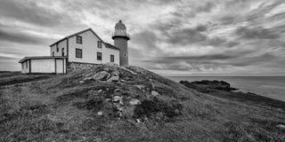 Faro di Ferryland in Terranova fotografia stock libera da diritti