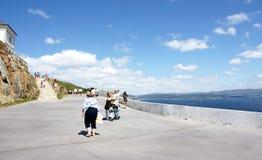 Faro di Finisterre di modo Fotografia Stock