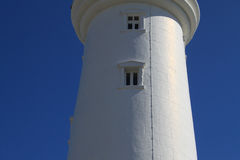 Faro di Flamborough, Yorkshire orientale Fotografia Stock