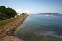 Faro di Galle nello Sri Lanka fotografie stock libere da diritti