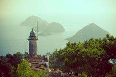 Faro di Gelidonia Fotografie Stock