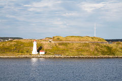 Faro di Halifax alla luce di pomeriggio Fotografia Stock