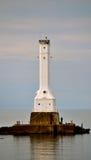 Faro di Huron Fotografia Stock