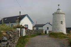 Faro di Inishbofin Fotografia Stock Libera da Diritti