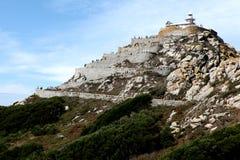 Faro di Islas Cies Immagine Stock