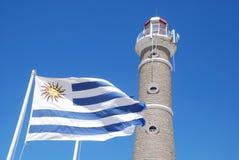 Faro di José Ignazio, Uruguai Immagine Stock