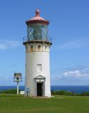 Faro di Kilauea Fotografie Stock