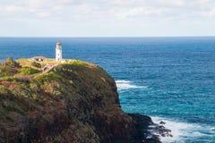 Faro di Kilauea Immagine Stock