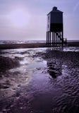 Faro di legno Fotografie Stock