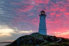 Faro di Louisbourg Fotografie Stock Libere da Diritti
