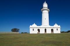 Faro di Macquarie - fronte anteriore, Nuovo Galles del Sud, Australia Fotografie Stock Libere da Diritti