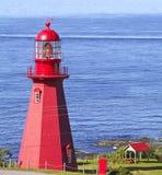 Faro di Martre della La, Quebec Immagini Stock