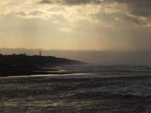 Faro di mattina Immagini Stock