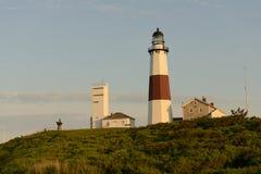 Faro di Montauk immagini stock libere da diritti
