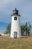 Faro di Newburyport in Massachusetts Fotografia Stock