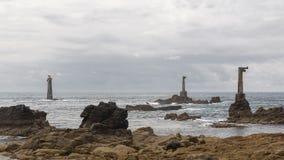 Faro di Nividic Fotografia Stock