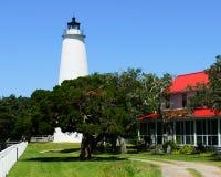 Faro di Ocracoke Fotografia Stock Libera da Diritti