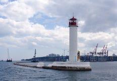 Faro di Odessa Fotografia Stock Libera da Diritti