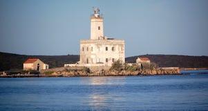 Faro di Olbia Immagini Stock Libere da Diritti