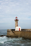 Faro di Oporto PÃ Immagine Stock Libera da Diritti