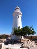 Faro di Pafo Immagine Stock Libera da Diritti