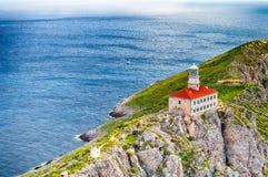 Faro 2 di Palagruza Fotografia Stock