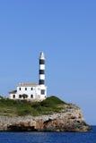 Faro di Portocolom Immagini Stock Libere da Diritti