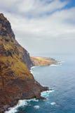Faro di Punto Teno, isole Canarie, Spagna Fotografia Stock Libera da Diritti
