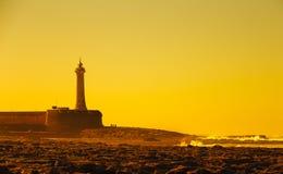 Faro di Rabat immagini stock libere da diritti