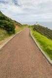 Faro di Reinga del capo, Nuova Zelanda Fotografie Stock Libere da Diritti