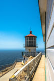 Faro di Reyes del punto, California fotografie stock libere da diritti