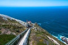 Faro di Reyes del punto, California immagini stock libere da diritti