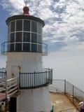 Faro di Reyes del punto, California fotografia stock libera da diritti