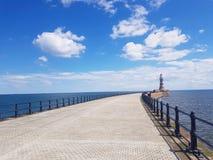 Faro di Roker immagini stock libere da diritti