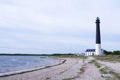 Faro di Saaremaa Fotografia Stock