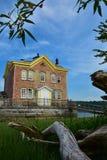 Faro di Saugerties Fotografia Stock
