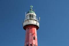 Faro di Scheveningen, Paesi Bassi Fotografie Stock