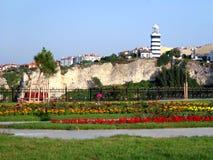 Faro di Sile, Costantinopoli - Turchia Immagini Stock