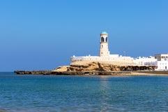 Faro di Sur - Sur, Oman fotografia stock libera da diritti