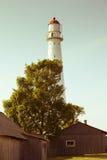 Faro di Tahkuna Fotografia Stock