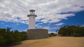Faro di Tourville del capo, Tasmania Fotografia Stock