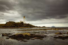 Faro di Turnberry in Scozia fotografie stock